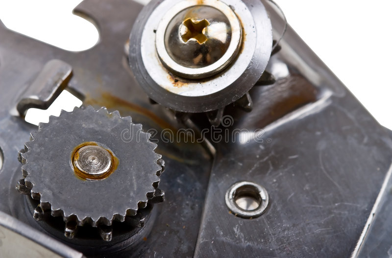 Close-up Abstract Mechanism Stock Photo