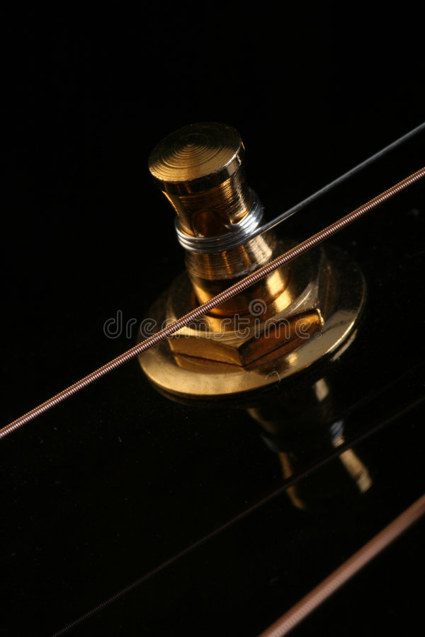 Close up of acousting guitar stock photos