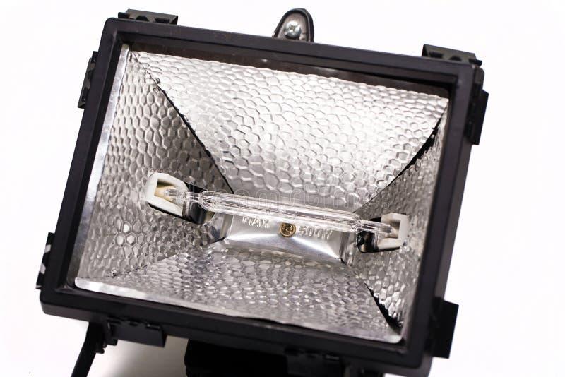 Close up of Adjustable light emitting diode. Isolated on white royalty free stock image