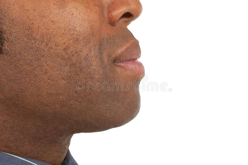 Download Close-up of african man stock photo. Image of person - 24480158