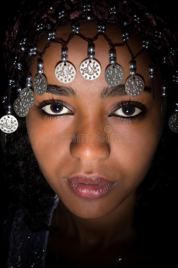 Close up africano imagens de stock