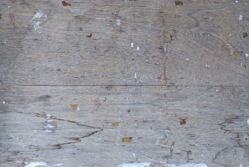 Close up ao fundo ou à textura suja da madeira compensada imagem de stock
