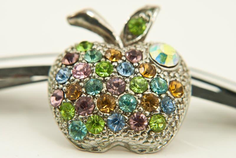 Download Close Up Apple Ring  In Studio Shot. Stock Image - Image: 24816703