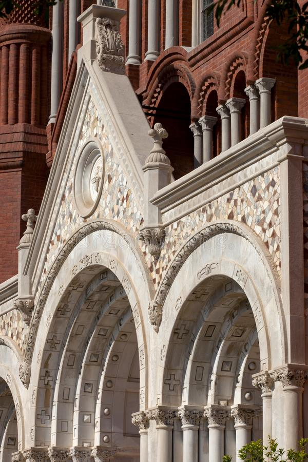 Download Architecture Detail Of Church Stock Image - Image of style, closeup: 100033425