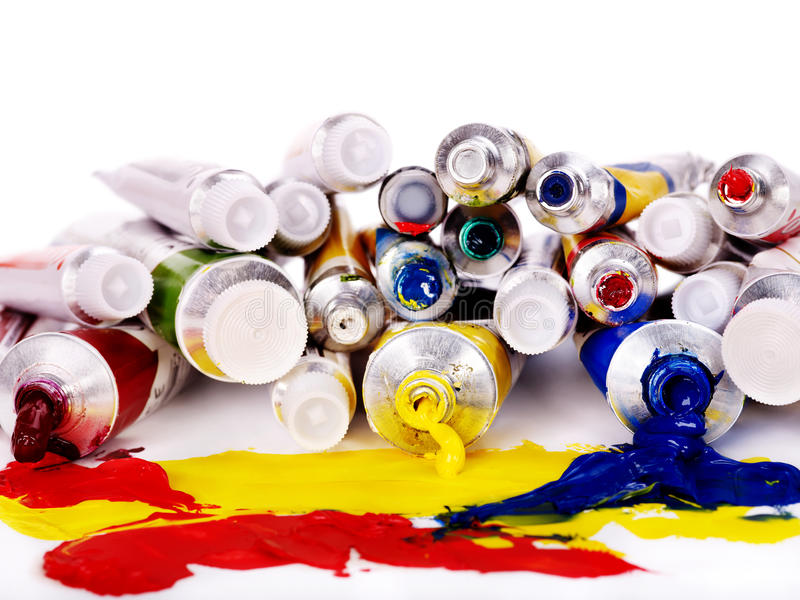 Download Close Up Of Art Supplies. Royalty Free Stock Image - Image: 32199376