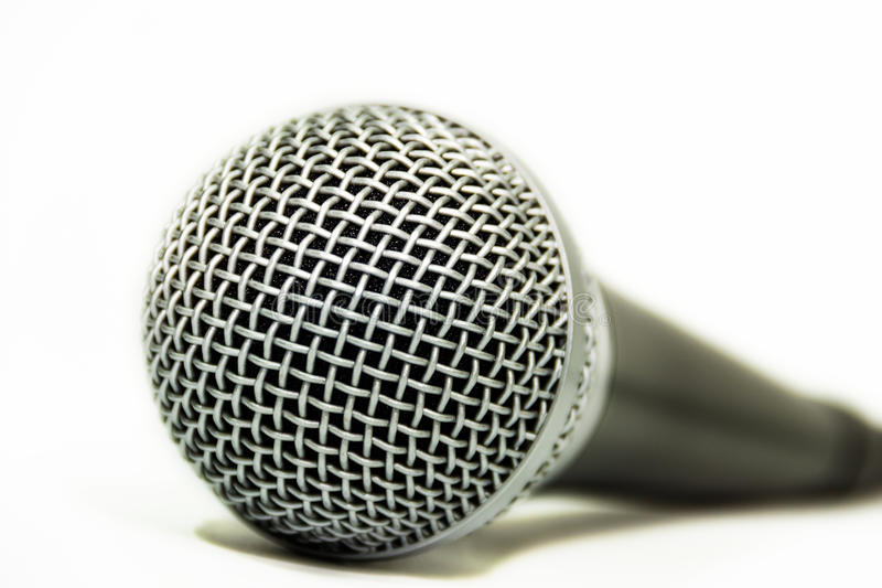 Download Close Up An Audio Microphone Stock Image - Image: 39243683