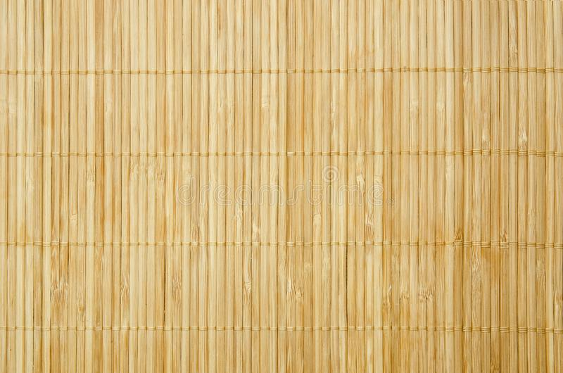 Close up background from bamboo table cloth stock photo