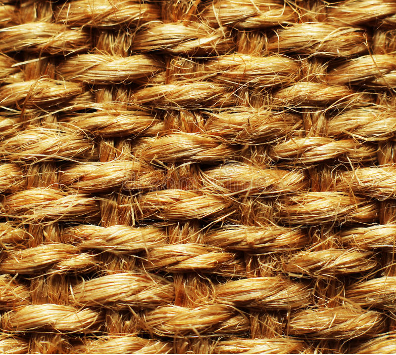 A close up background/texture photo of hessian fabric. A close up background/texture macro photo of hessian fabric stock image