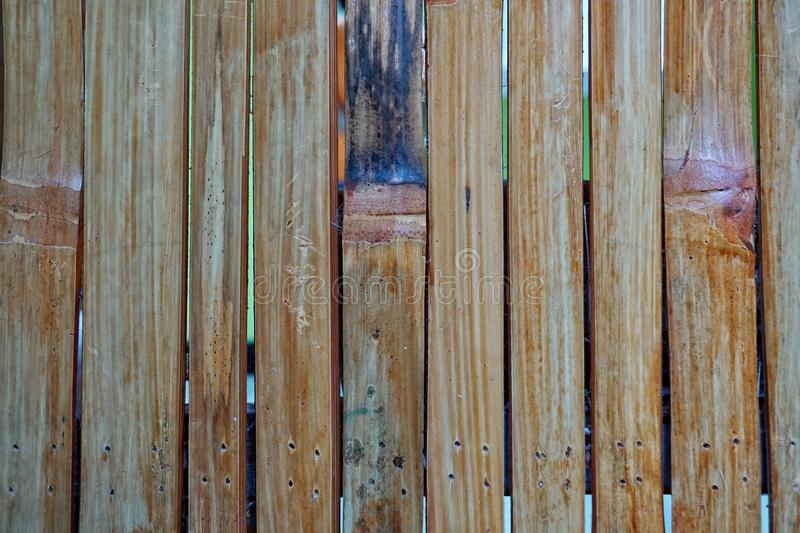 Close up Bamboo woods wall texture background royalty free stock photos