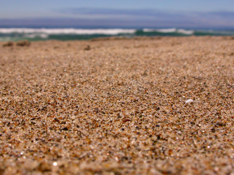 Close-up of beach sand stock image. Image of rough, blue - 3005205