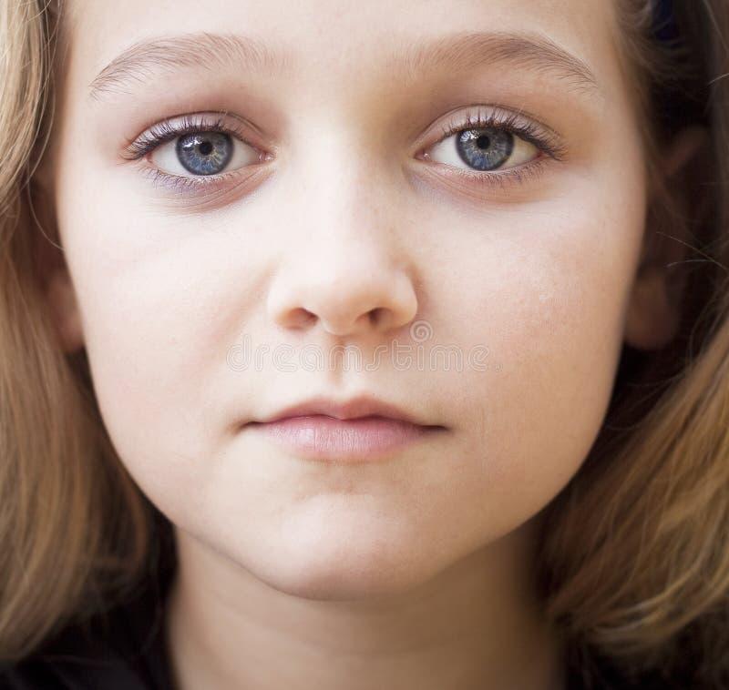Close up of beautiful child stock image