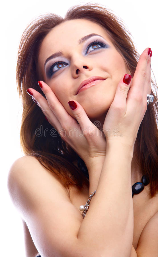 Download Close-up Of Beautiful Model Stock Photo - Image: 18113380