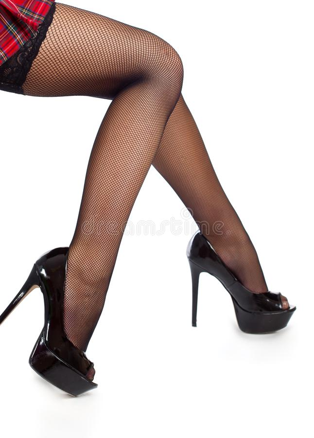 legs stockings Sexy black
