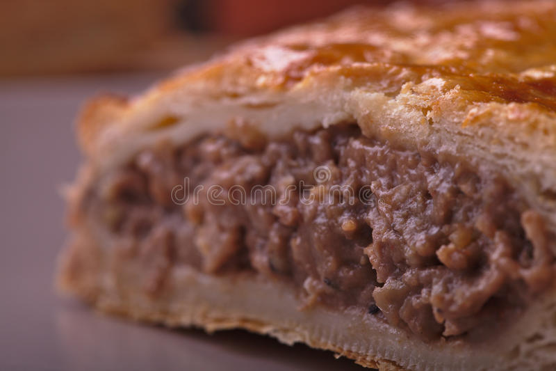 Download Meat Pasty Close up stock photo. Image of plate, food - 29968526