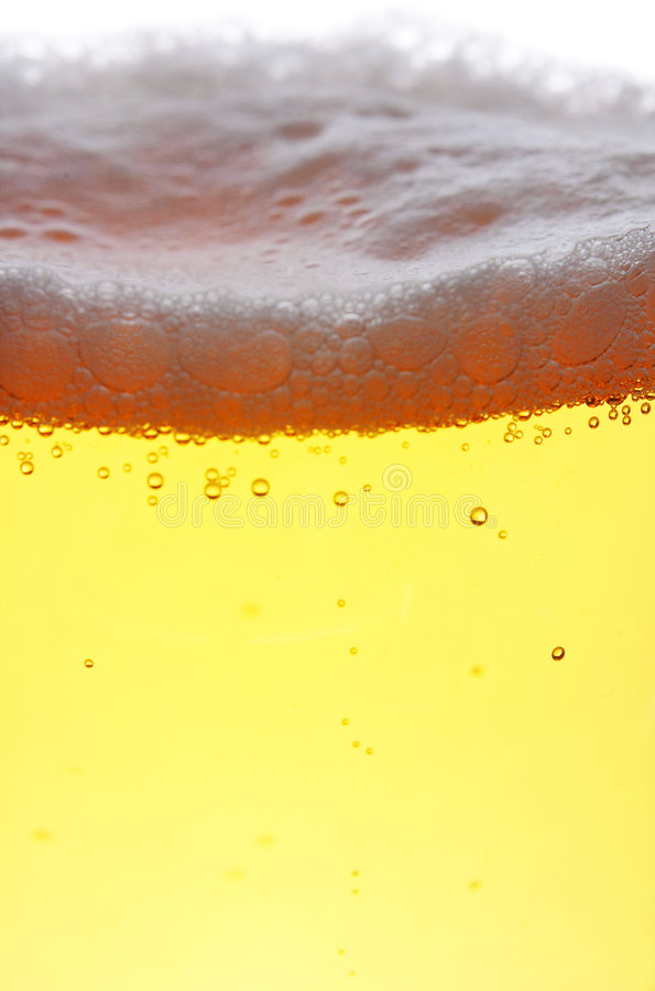 Download Close Up Of Beer With Bubbles Stock Image - Image: 2599481
