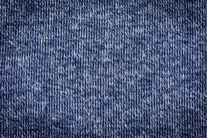 Close up blue abstract fabric texture for background stock image