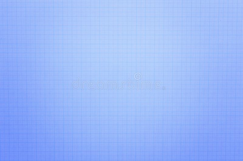 Close up of blue graph paper or blueprint. Background and texture stock photography