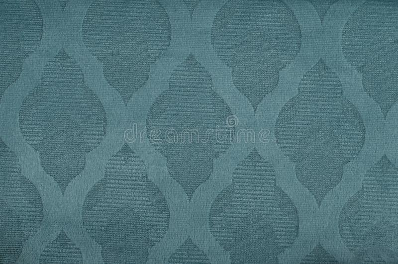 Close-up blue texture fabric cloth textile background royalty free stock image