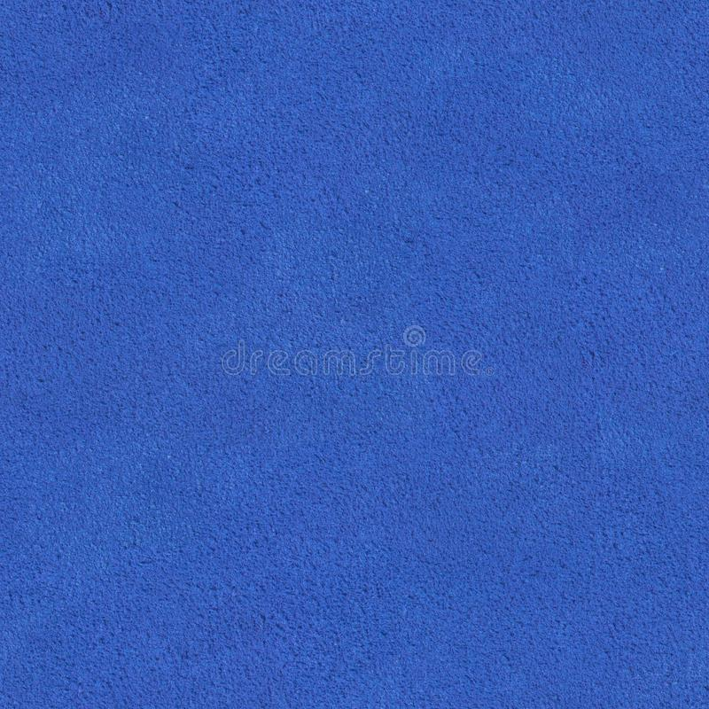 Close up of a blue velvet texture. Seamless square background, tile ready. stock images
