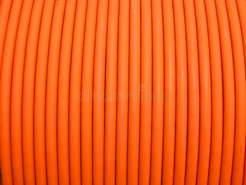 Close-up, bobina dos fios elétricos imagem de stock