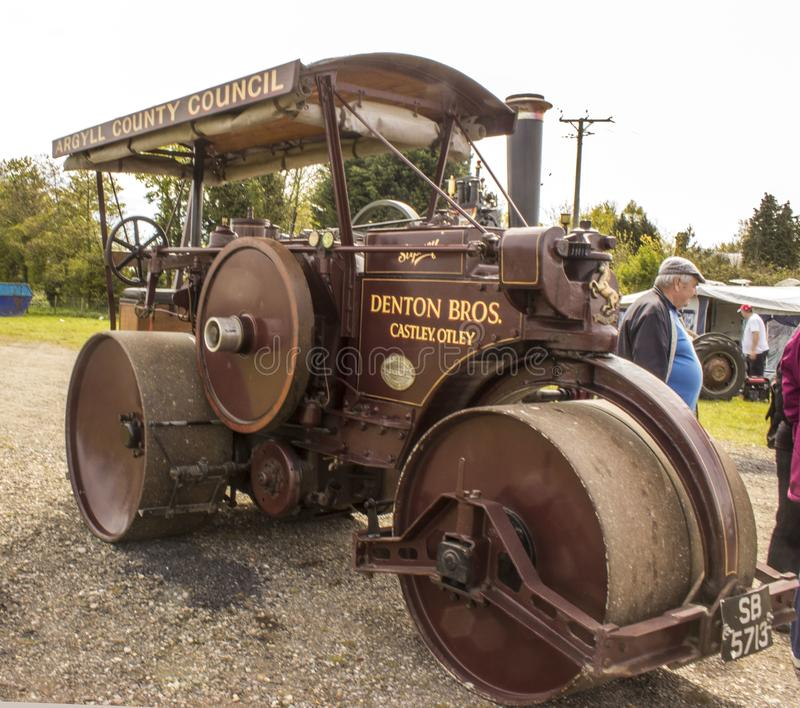 A old fashioned steam engine royalty free stock image