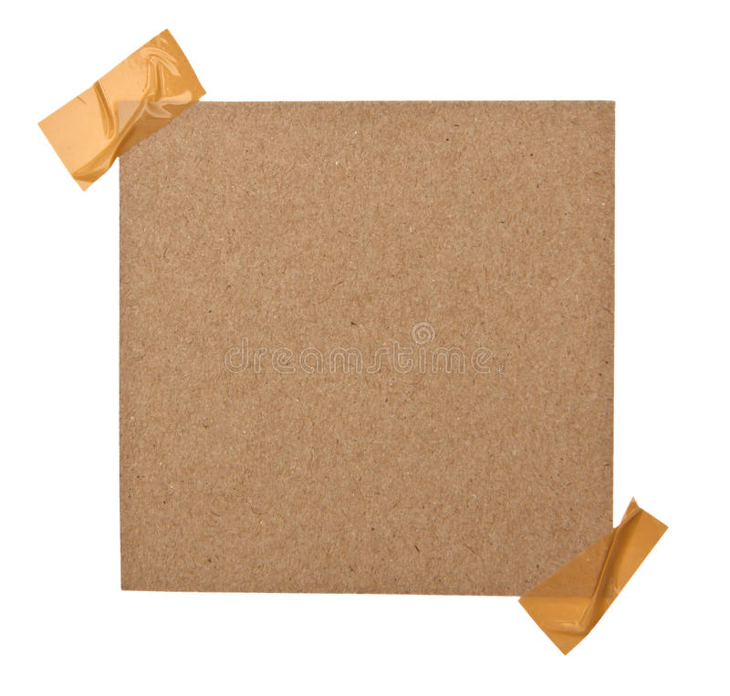 Download Close Up Of A Brown Note Paper Stock Image - Image of attachment, grungy: 39509165