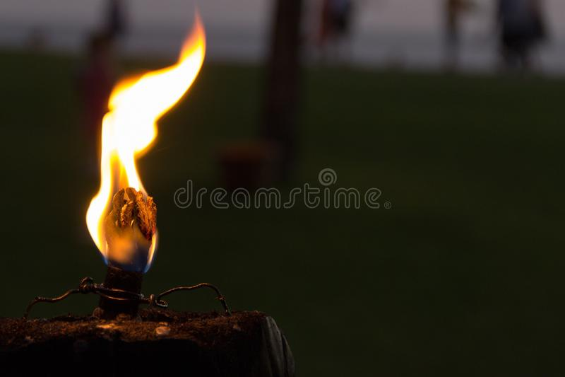 Close up of burning flame stock photos