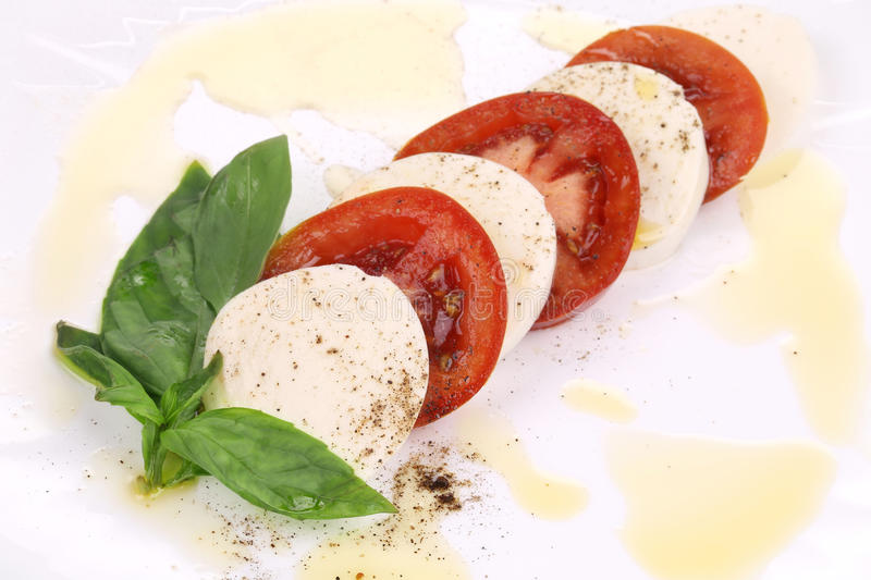 Download Close up of caprese salad. stock photo. Image of italy - 41528738
