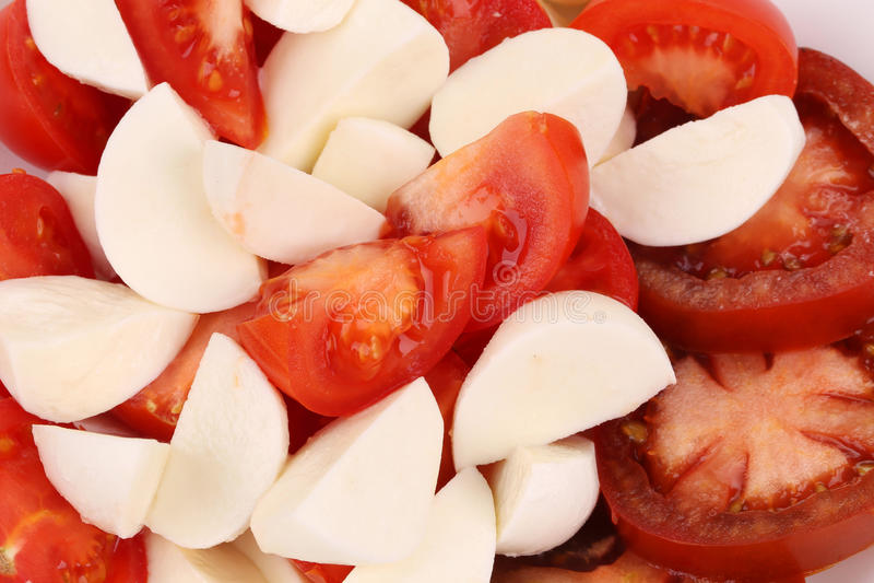 Download Close Up Of Caprese Salad. Macro. Stock Image - Image: 41528769