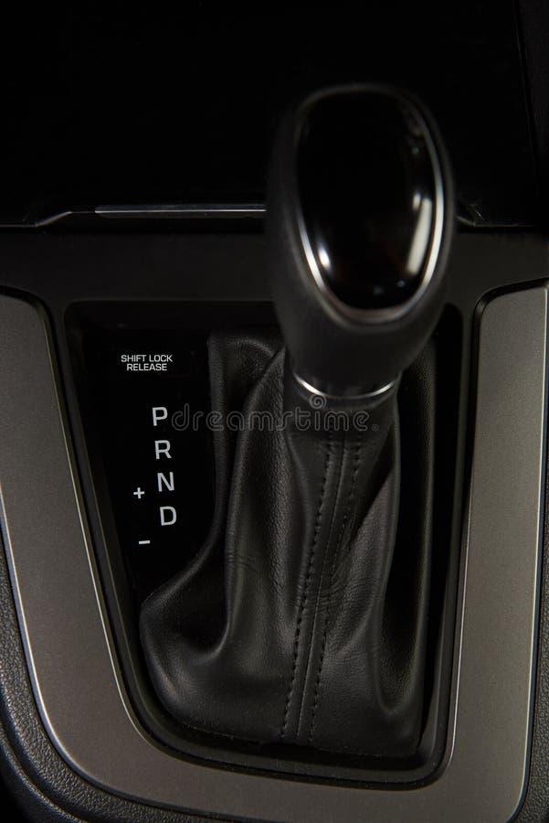 Close up of car gear stick stock photos
