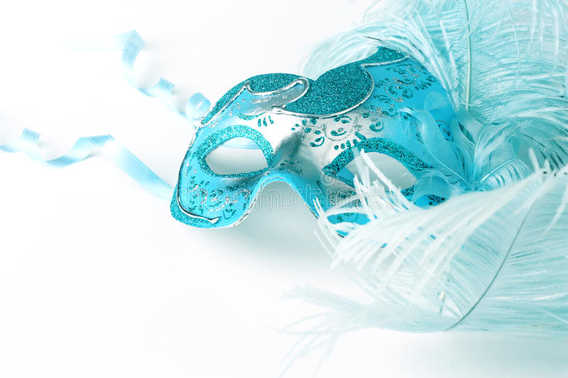 Close up of a carnival mask royalty free stock photography