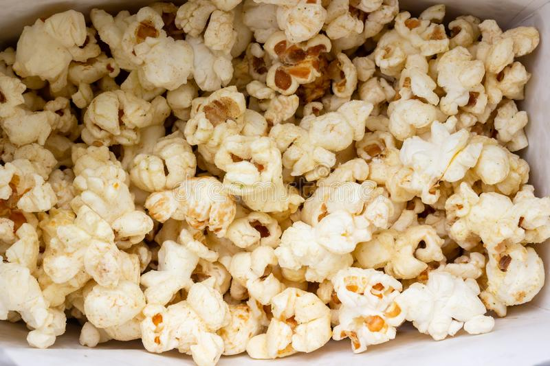 Close up Cheese popcorn royalty free stock photo