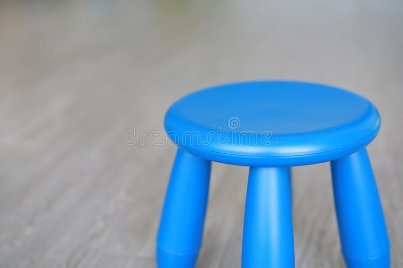 Close-up Children chairs in the playroom royalty free stock images