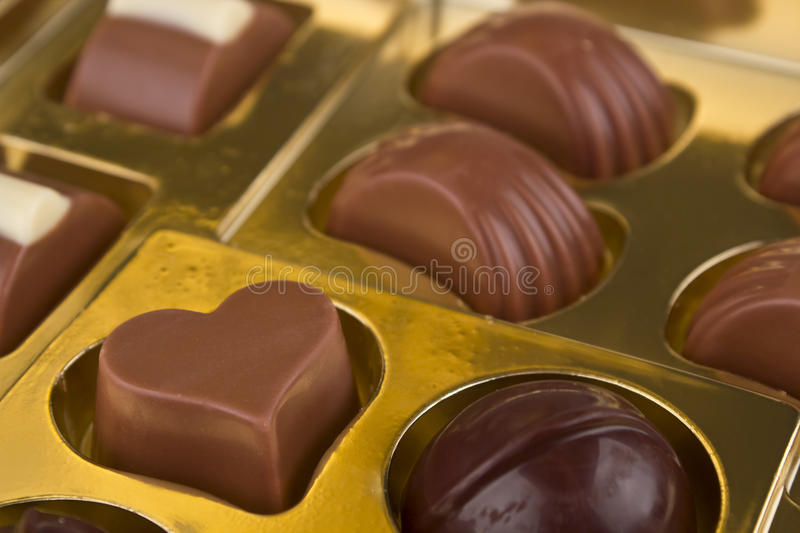 Close Up Of A Chocolates Royalty Free Stock Images
