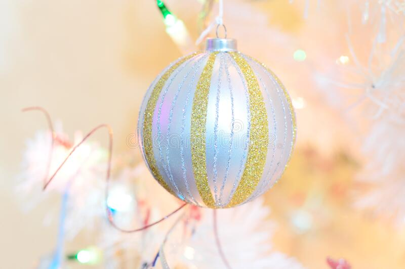Close-up of Christmas Ball stock photos
