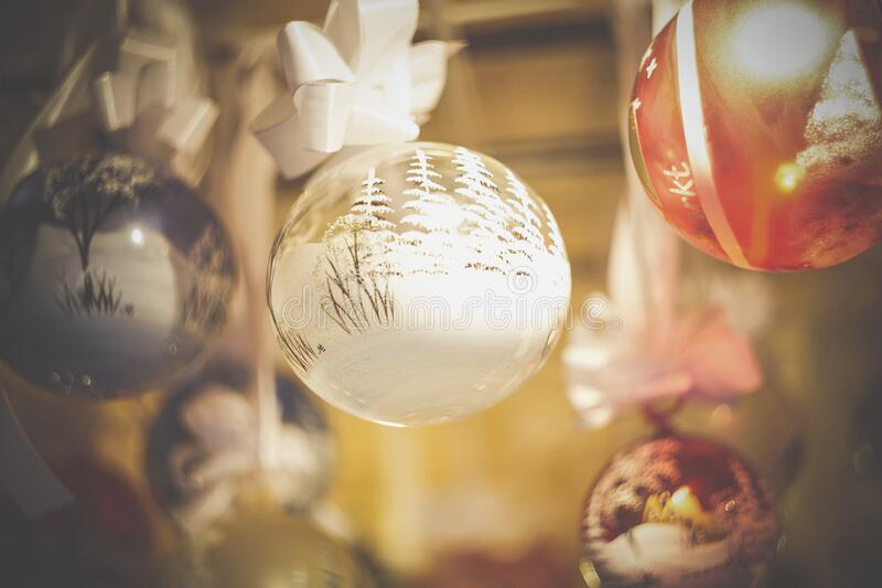 Close-up of Christmas Decoration royalty free stock photography