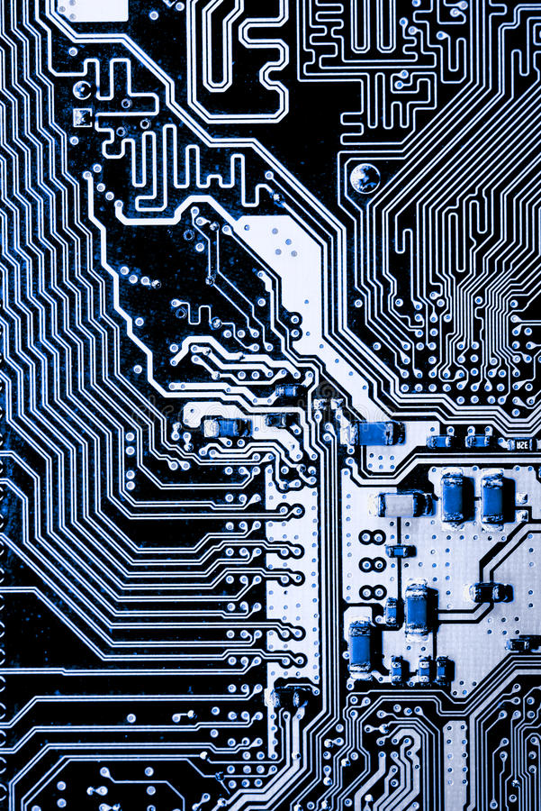 Close up of Circuits Electronic on Mainboard Technology computer background logic board,cpu motherboard,Main board,sys. Abstract, close up of Circuits Electronic stock image