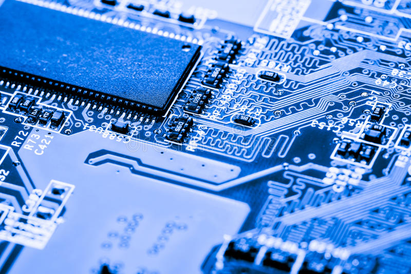 Close up of Circuits Electronic on Mainboard Technology computer background logic board,cpu motherboard,Main board,sys. Abstract, close up of Circuits Electronic royalty free stock photography
