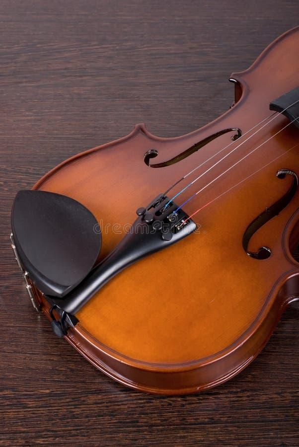 Close up clássico do violino fotos de stock