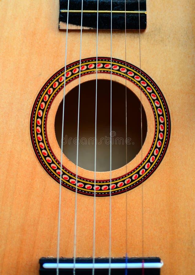 Close up cl?ssico da guitarra fotos de stock