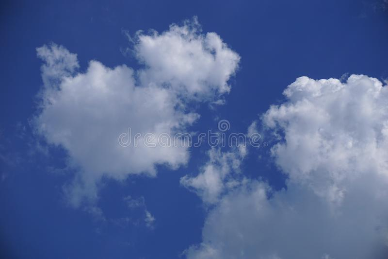Cloud with blue sky. Close up cloud with blue sky royalty free stock images