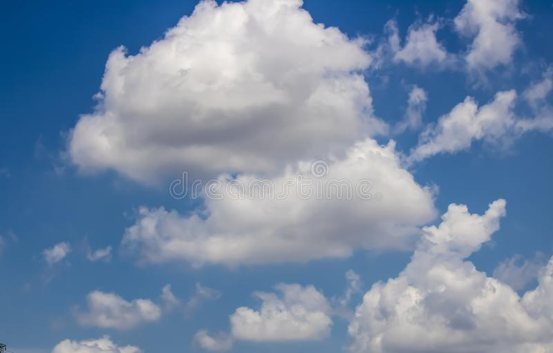 Close-up of a cloud sky taken in summer day. Spring, scenic, abstract, clouds, landscape, natural, environment, blue, cloudy, outdoor, nature, air, color royalty free stock images