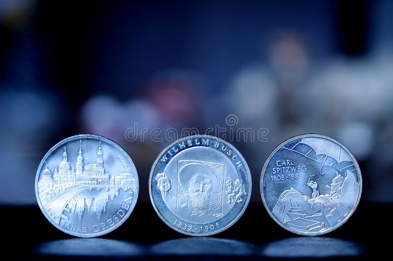 Close Up, Coin, Currency, Macro Photography stock photos