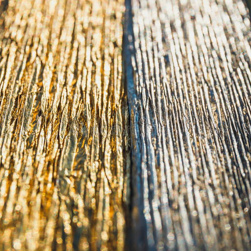 Color corrugated paper background. Close up of color corrugated paper background stock photo