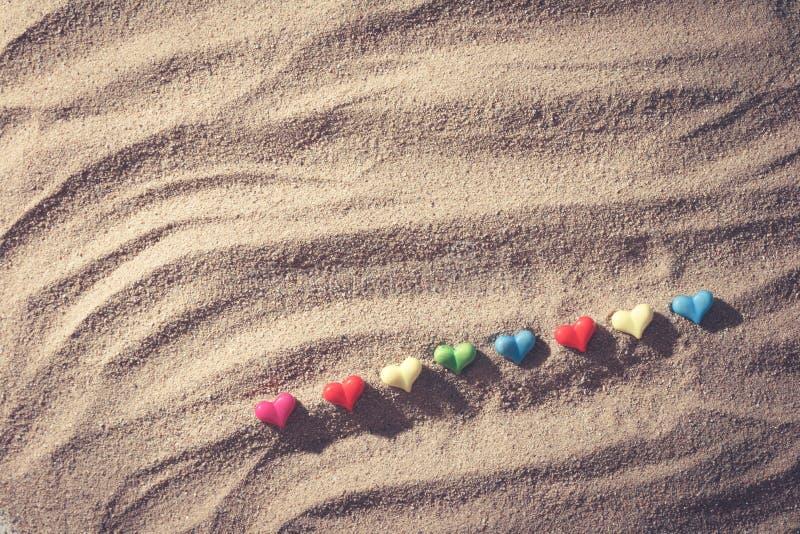 Sand beach royalty free stock photo