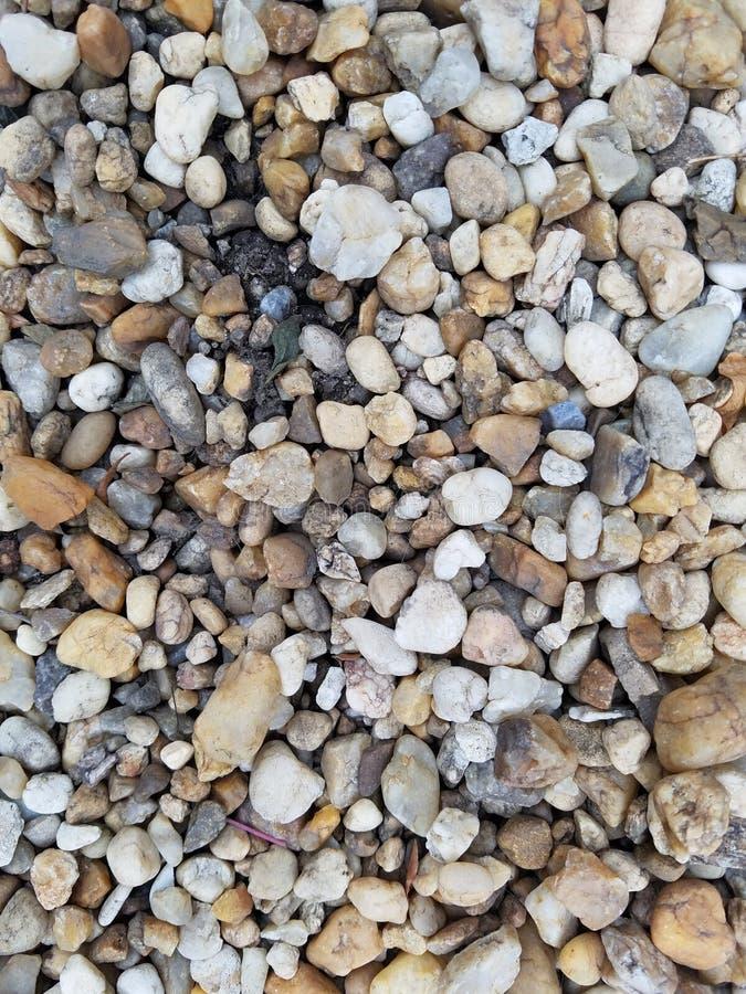 Close up colorido do cascalho imagens de stock