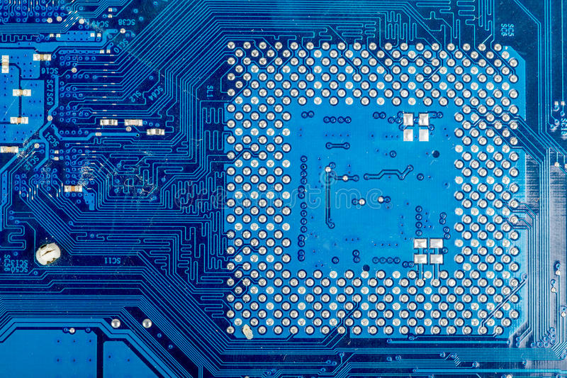 Download Close Up Of Computer Circuit Motherboard Stock Image - Image: 38186293