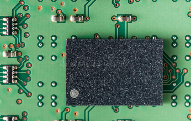 Download Close Up Of A Computer Ram Memory Circuit Patterns Stock Photo - Image: 26724242