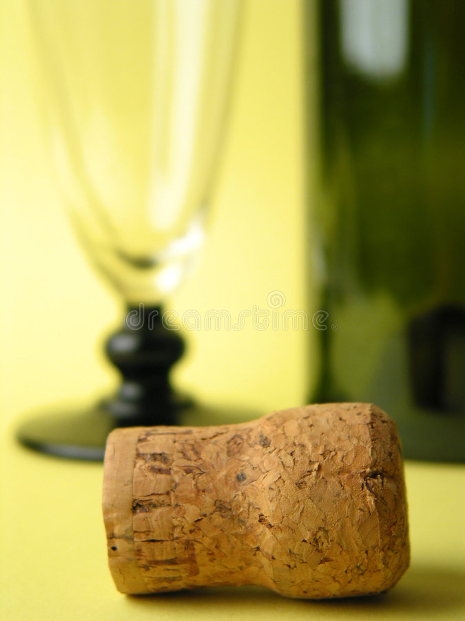 Close-up Of A Cork Royalty Free Stock Images