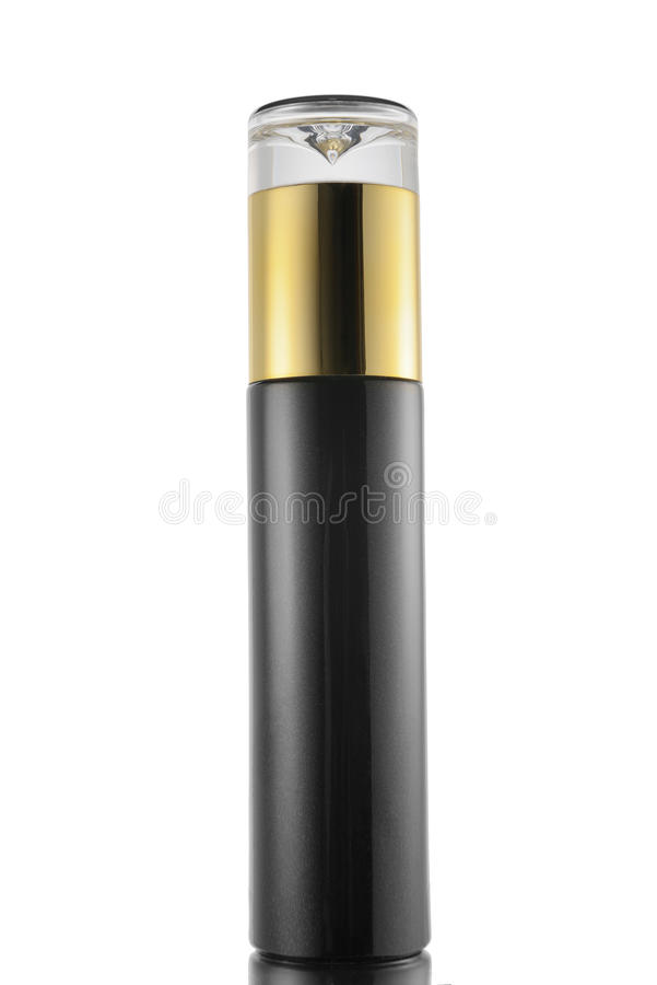 Close up cosmetic container stock images